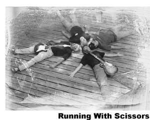 Portrait of Running w/ Scissors