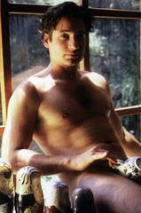 Portrait of Fox Mulder FBI Agent