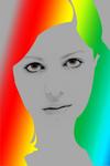 Portrait of mai lev
