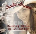 Portrait of Cecilia Lauren & the Ocoee River band
