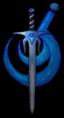 Portrait of Greg Lyons/Steel Blue Knight