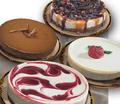 Portrait of cheesecakes