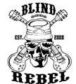 Portrait of Blind Rebel
