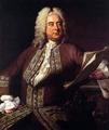 Portrait of Johann S Bach