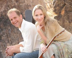 Portrait of Joe Uveges and Stephanie Pauline