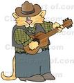 Portrait of cowboy kat