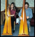 Portrait of Two Harps