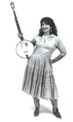 Portrait of BanjoQueen Diane Sanabria
