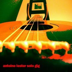 Portrait of Antoine Lester Solo Gig