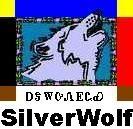 Portrait of whitewolf