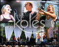 Portrait of Arlene Kole and the Koles