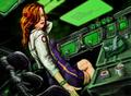 Portrait of spacegirl