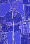 Portrait of blue copper