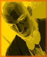 Portrait of St.Paul on acid