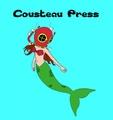 Portrait of Cousteau Press