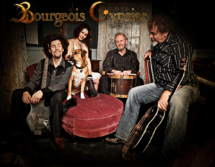 Portrait of Bourgeois Gypsies