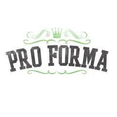 Portrait of Pro Forma