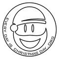 Portrait of Santa Spotty
