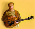 Portrait of Andy (Andrzej) Chochol - guitar