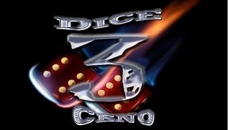 Portrait of 3 dice ceno