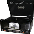 Portrait of Phonograph records
