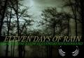 Portrait of eleven days of rain
