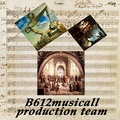 Portrait of B612musicall production team