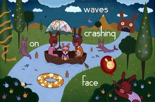 Portrait of Waves Crashing on Face