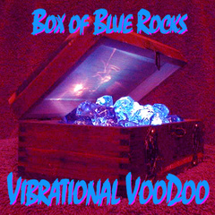 Portrait of Box Of Blue Rocks