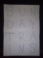 Portrait of Sunday Trains