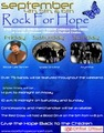 Portrait of THE ROCK FOR HOPE CONCERT
