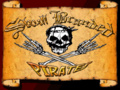 Portrait of Skull Branded Pirates