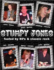 Portrait of Stumpy Jones