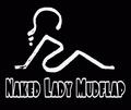 Portrait of Naked Lady Mudflap