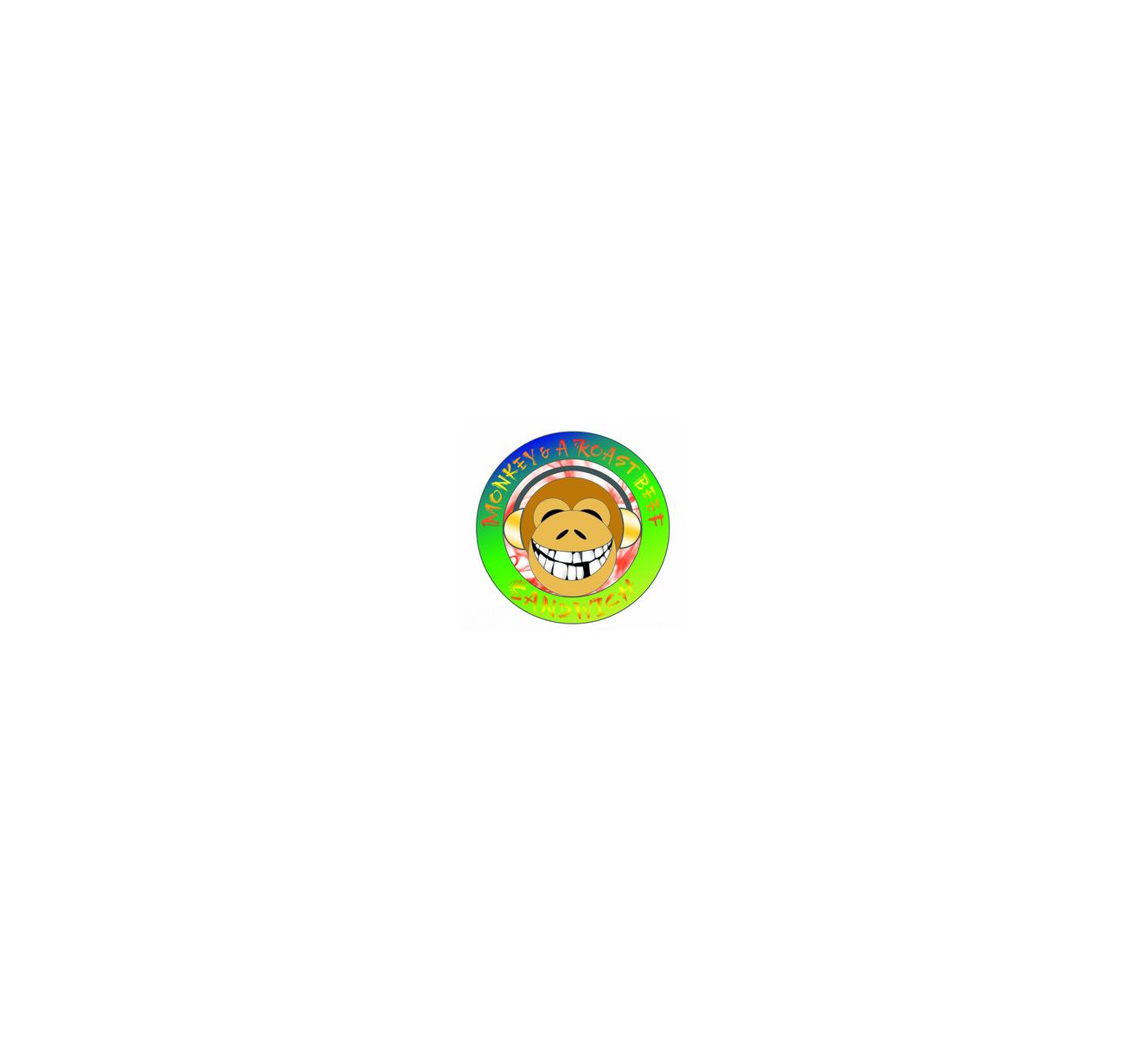 Portrait of Monkey & a Roast Beef Sandwich (MR.B.S.)