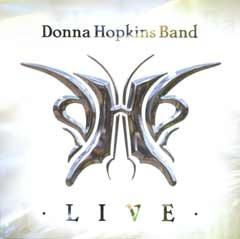 Portrait of donna hopkins band
