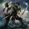 Portrait of Orc Warrior